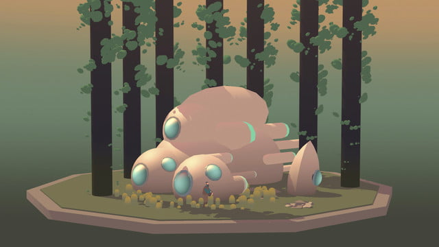 Seed Concept Art forest dwelling