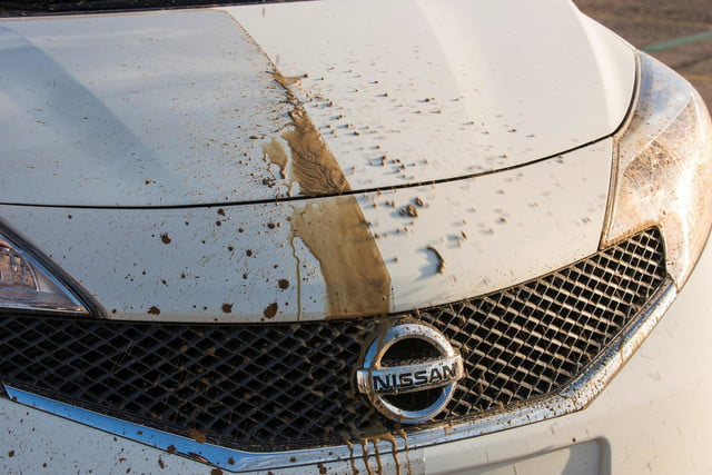 Nissan and Ultra-Ever Dry self-cleaning car