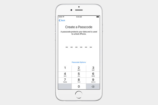 guide to ios set up iphone passcode