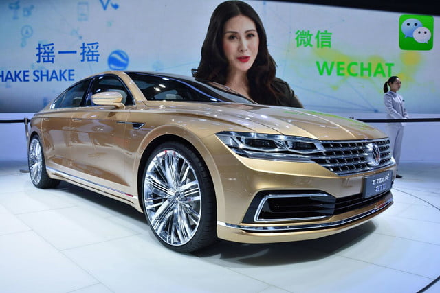 volkswagen c coupe gte concept official pictures and specs shanghai 2