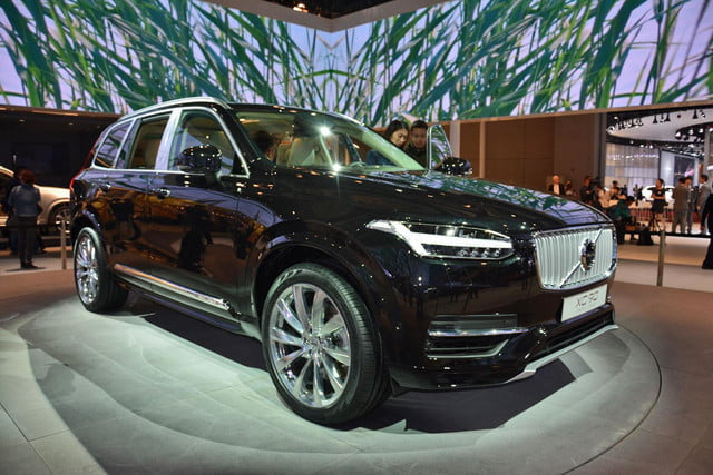 volvo lounge console concept pictures shanghai xc90 excellence 1