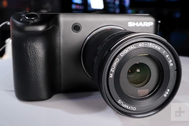sharp 8k camera prototype ces 2019 prosumer 1