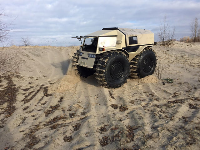 russian sherp atv self inflating tires 0008