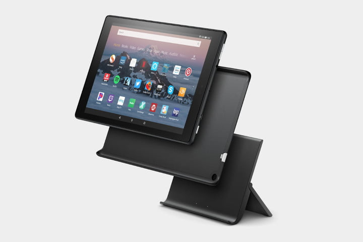 amazon show mode charging dock and fire hd 10 kids