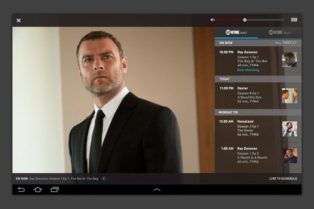 showtime anywhere app screen