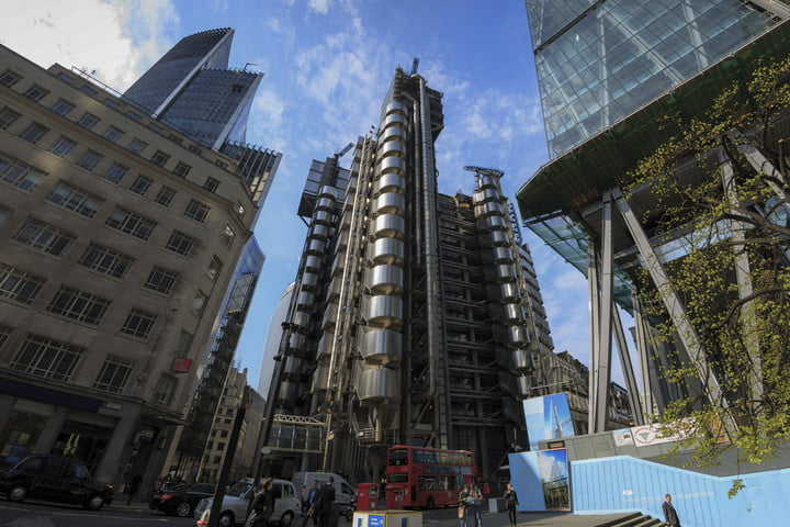 best company headquarters skyscrapers in the city of london