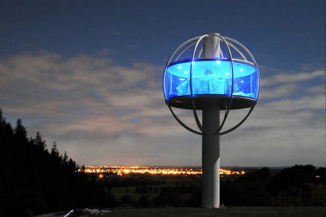skysphere is a voice controlled man cave 33 feet in the air 3