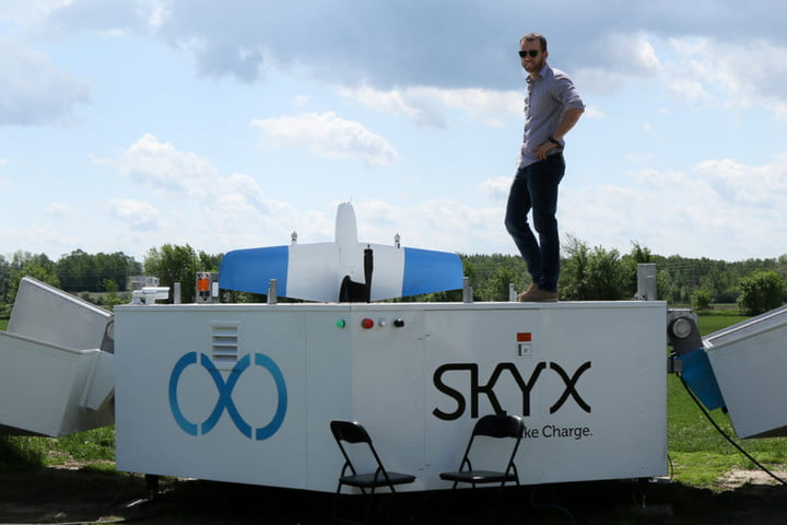 xstation drone charing skyone skyx6