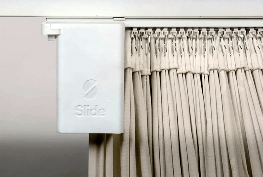 slide retrofit curtain control for smart home systems digital trends - Smart Curtains