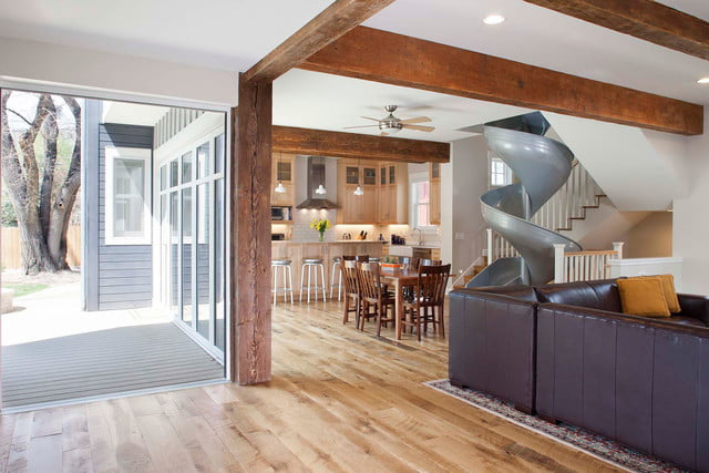 houses with amazing indoor slides sliding into home 17
