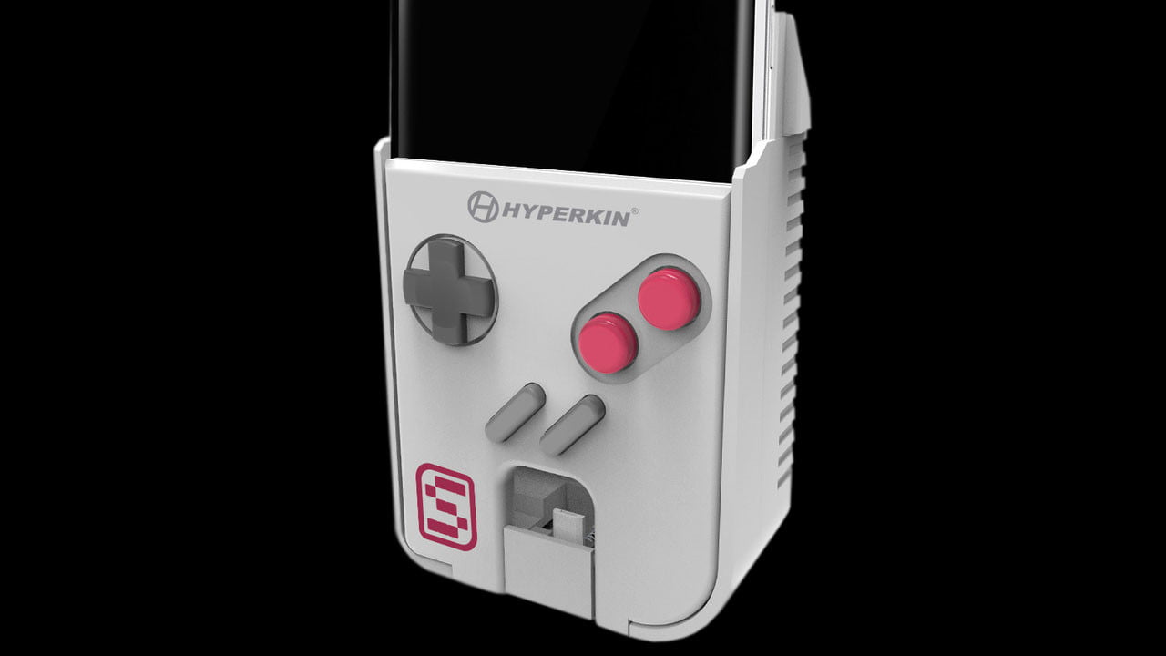 SmartBoy Turns Your Android Phone Into A GameBoy Buttons And All - Hyperkin smartphone gameboy