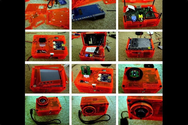 snappicam raspberry pi interchangeable lens camera hack together 2