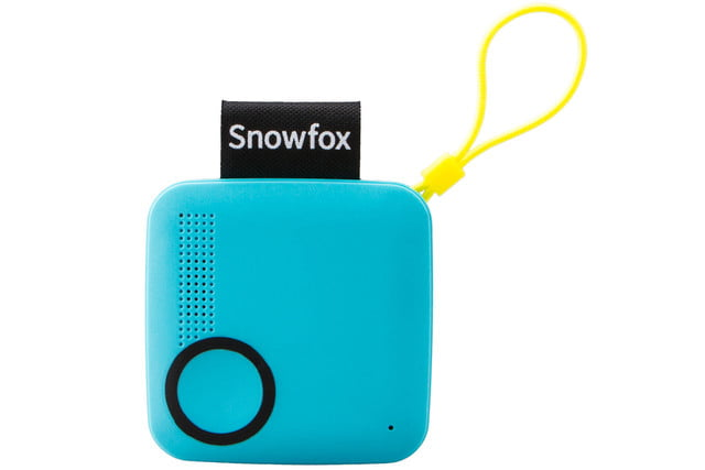 snowfox trackerphone indiegogo launch blue front
