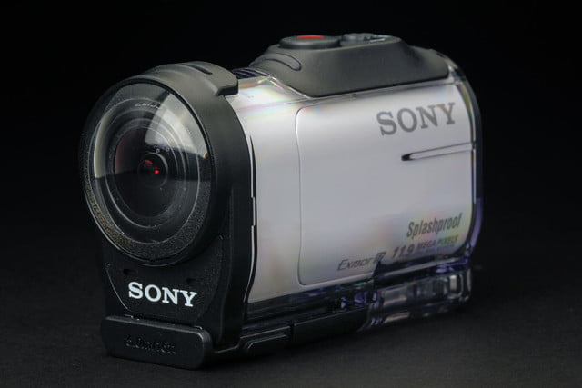 Sony Action Mini Cam front angle 2