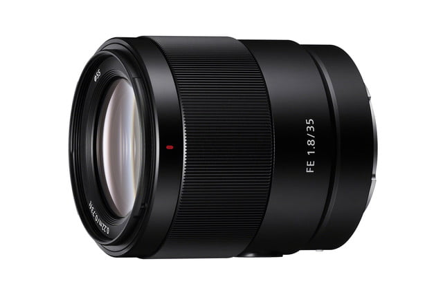 sony fe 35mm f18 lens news product white