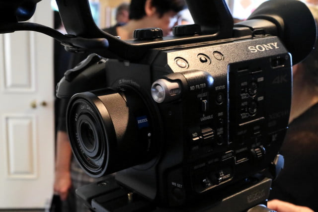sonys compact 4k super 35mm camcorder will take your youtube videos to next level sony fs5 2