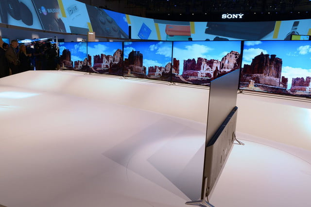 sony brings big 4k uhd netflix news and ultra thin tvs to ces 2015 x900c tv 5