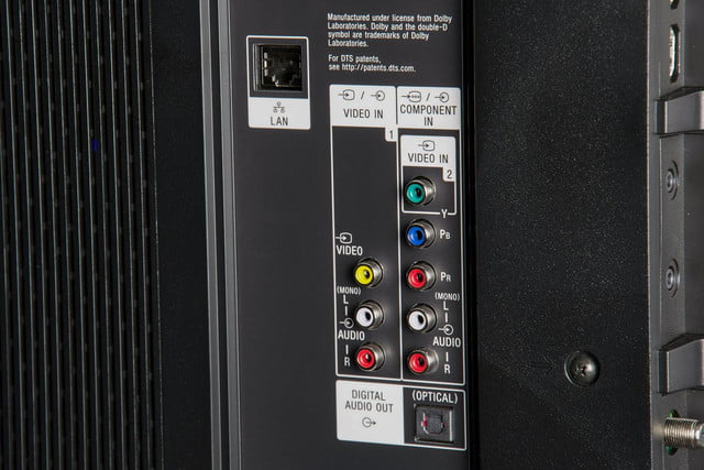 Sony XBR-65X950B review component inputs