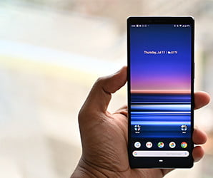 Sony Xperia 1's cinematic 4K screen is fantastic. The rest of it isn't