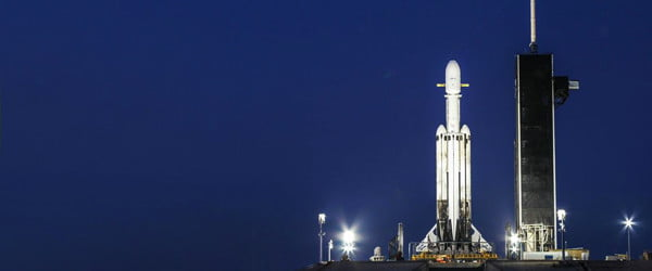 SpaceX launches Falcon Heavy but loses core boosterin crash landing
