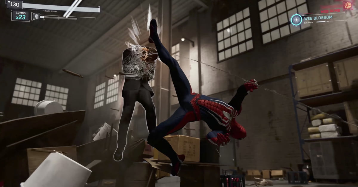 c7b56db30 The Ultimate Guide to  Marvel s Spider-Man   Combat