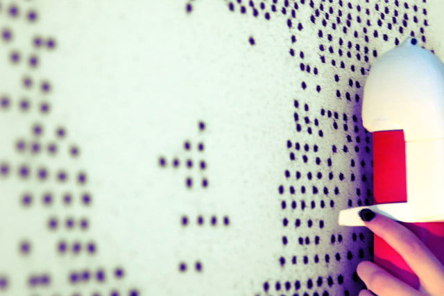The Sprayprinter Makes Graffiting Your Wall Easy Nice Ideas