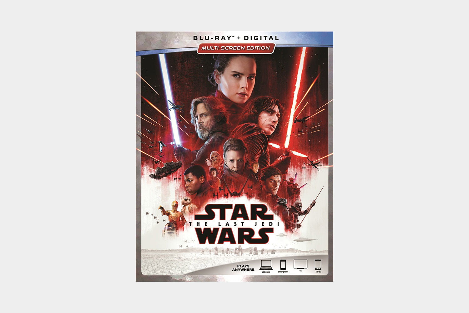best blu ray discs show home theater star wars the last jedi cover