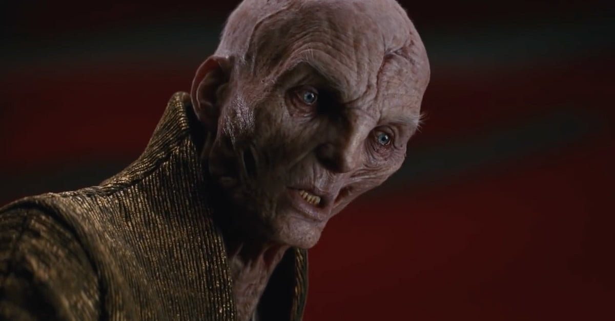 how visual effects made snoke supreme in star wars the