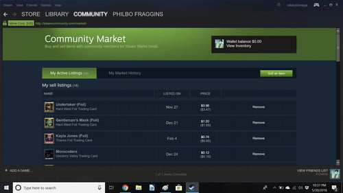 How to Sell Steam Trading Cards | Digital Trends