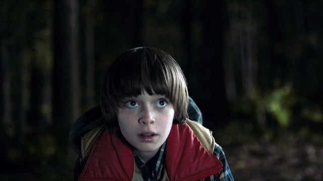 netflix stranger things first look will looks up to road r