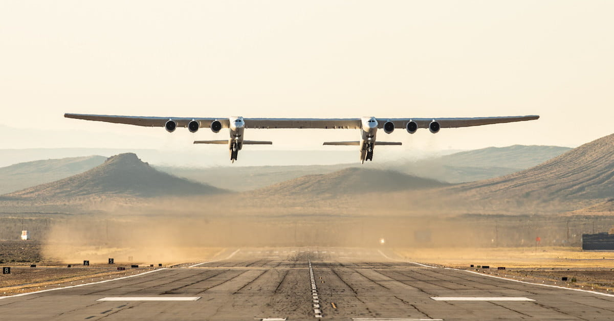 Stratolaunch, the World's Largest Plane, Is Up for Sale for $400