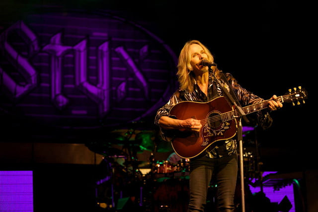 Styx Tommy Shaw acoustic guitar