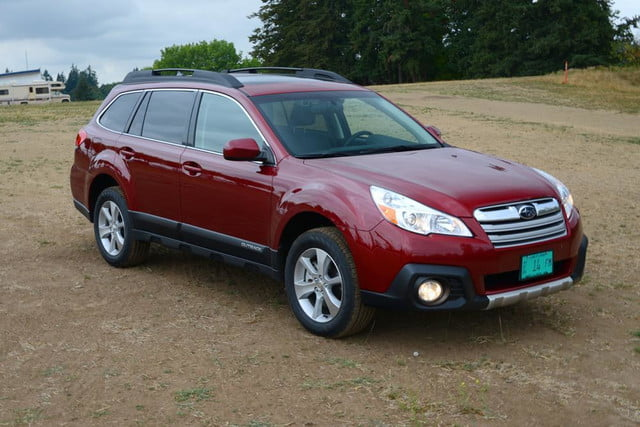 2013 subaru outback front right angle