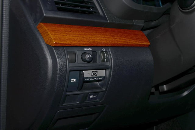 2013 subaru outback review interior drivers buttons