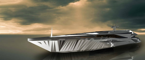 This 'spaceship' superyacht is out of this world