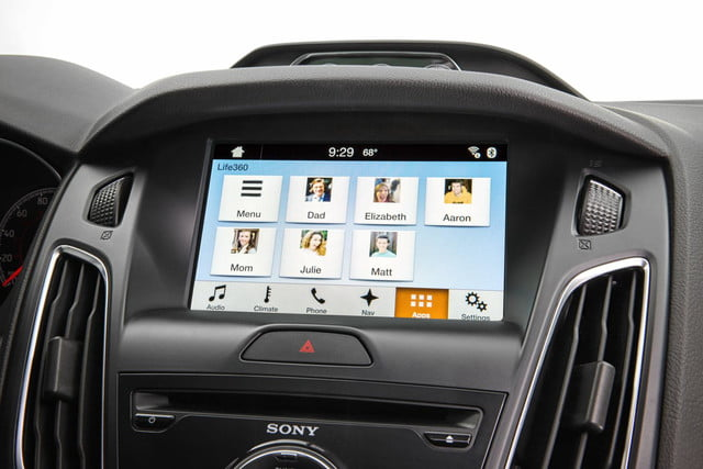 Ford Sync AppLink Life360 Family Circle