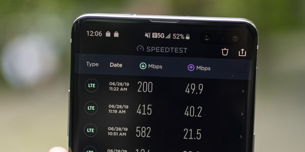 Testing T-Mobile's 5G speeds in New York City With The Galaxy S10 5G