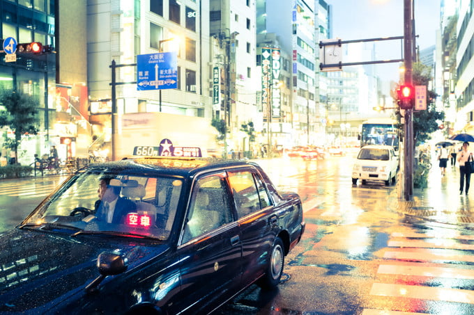 tokyo driverless cabs 2020 taxi