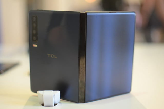 tcl folding phones mwc 2019 foldaphone book