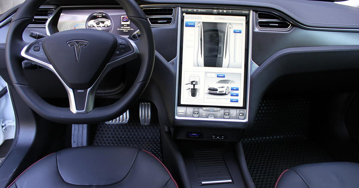 tesla is rolling out a premium connectivity package for in car internet digital trends. Black Bedroom Furniture Sets. Home Design Ideas