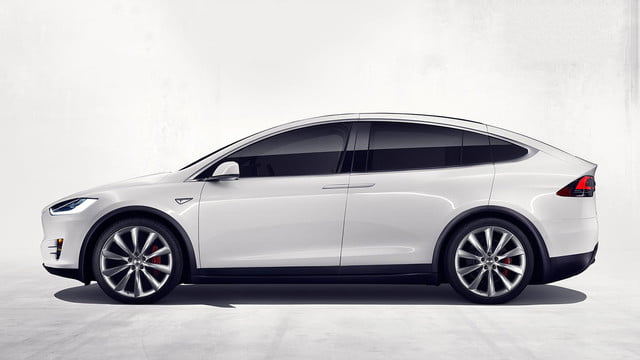 tesla top model s competitors x section exterior profile