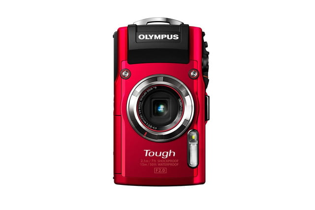 olympus announces stylus tough tg3 tg 3 red front stand