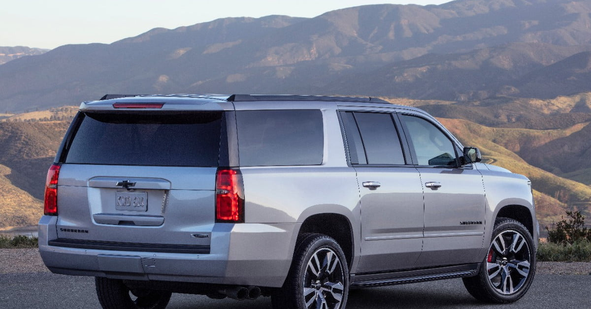 2019 Chevrolet Suburban RST Performance Package Headed to ...