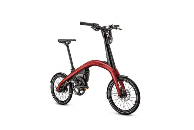 general motors cycles into a new market with its first ever ebikes the ar  v merge pictured is folding ebike that can be pre
