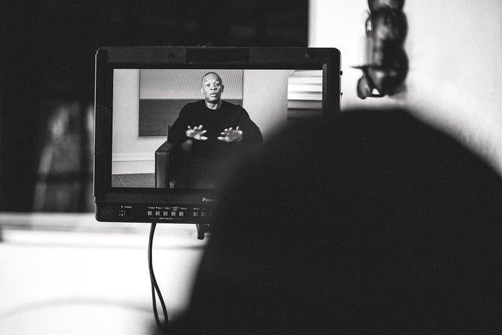 the defiant ones cinematographer hbo interview dr dre display