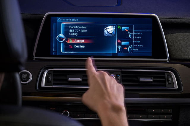 new bmw idrive features touchscreen and gesture recognition the next generation of 2