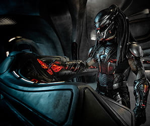 With some clever twists, 'The Predator' makes bloodthirsty aliens fun again