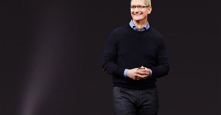 Apple CEO Tim Cook Gets Pay Cut Due to 2016 Numbers