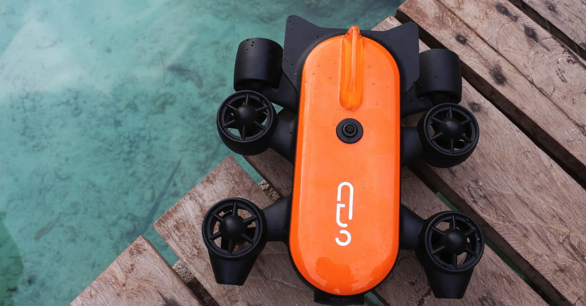 The Titan underwater drone promises to go deeper than its rivals