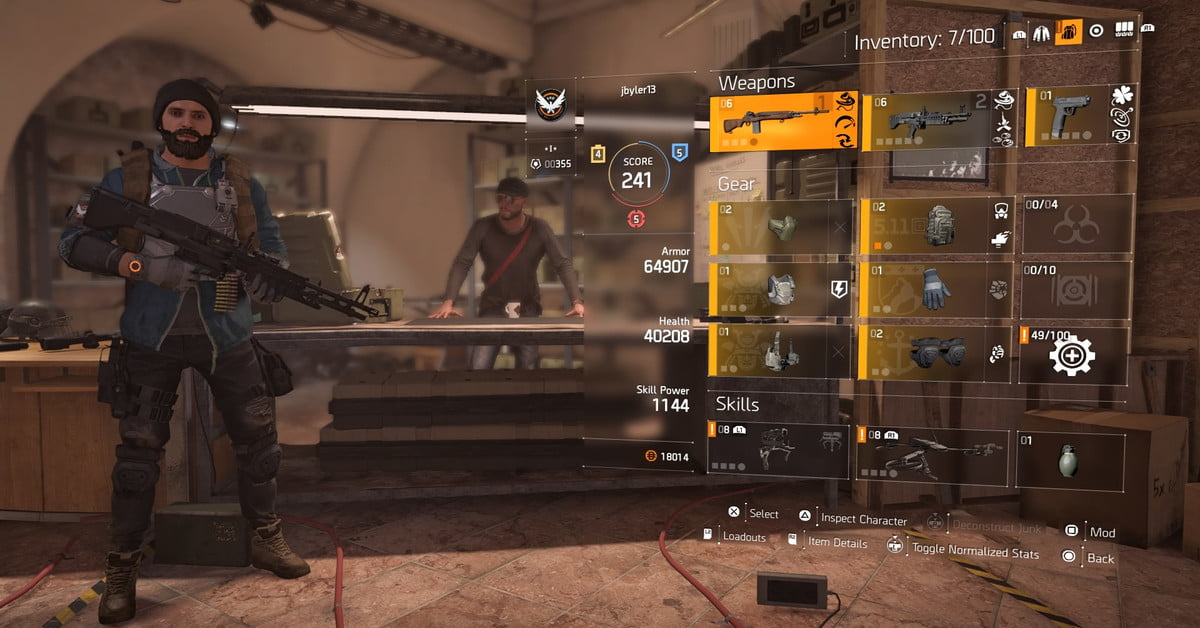 The Division 2 Agent Builds and Specializations Guide